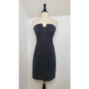 Trina Turk Strapless Black Mini Dress
